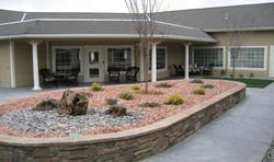 Aspen Ridge courtyard