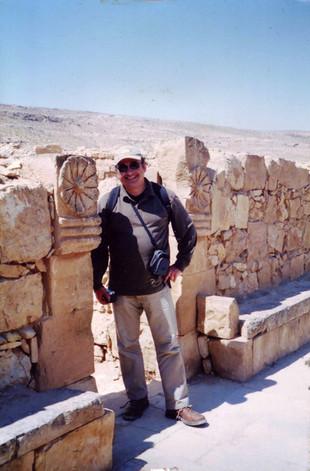 Mamshitban, a Negev sivatagban