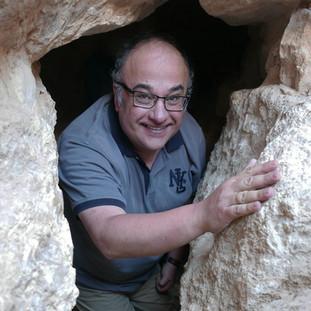 Horvat Etri, egy föld alatti búvóhely, a fotót Boaz Zissu készítette