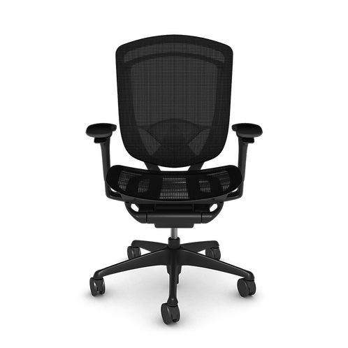 Nuova Contessa All-Mesh Task Chair, Painted Frame & Base