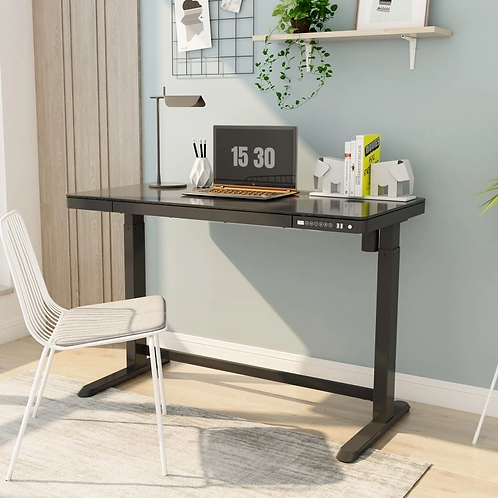 Comhar All-In-One Height Adjustable Desk by Flexispot