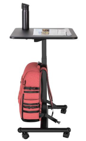 "Mobile Height Adjustable Table 28"" by FlexiSpot"
