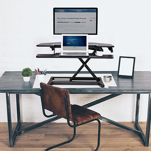 "AlcoveRiser Standing Desk Converters - 36"" by FlexiSpot"