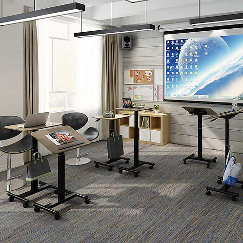"""Mobile Height Adjustable Table 28"""" by FlexiSpot"""