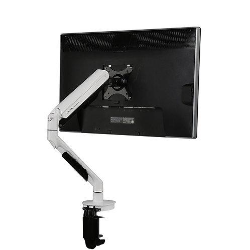 Q7 Single Monitor Arm White by Loctek