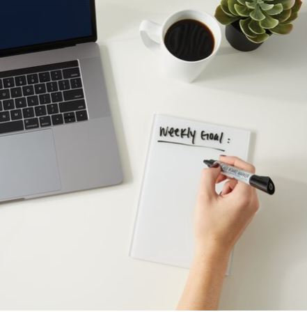Glass Dry-Erase Notepads by Quartet
