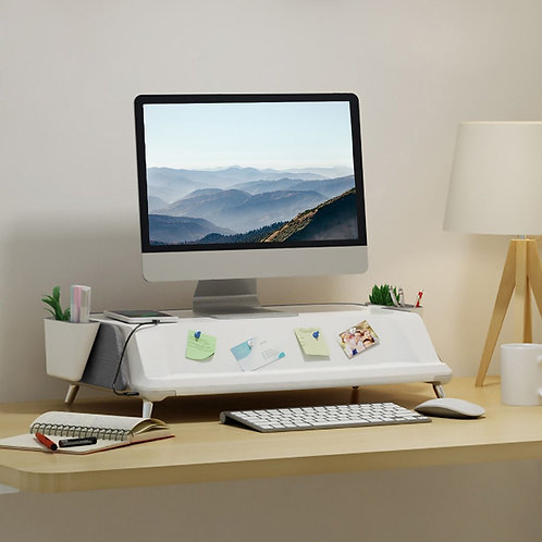 MonitorStand Workstation with UV Light by FlexiSpot