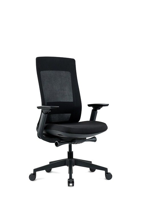 Elevate Black Task Chair by Eurotech