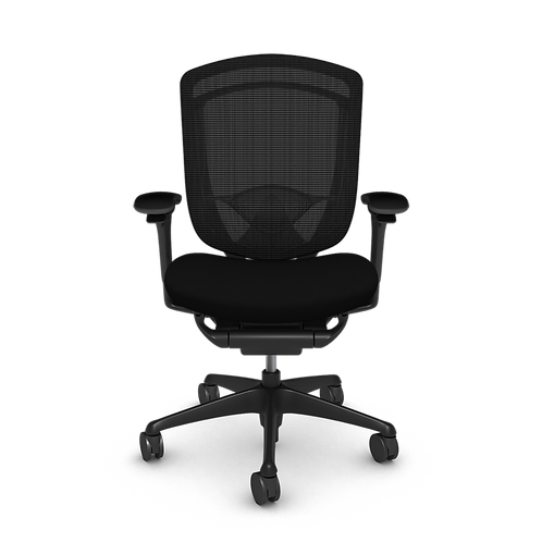 Nuova Contessa Upholstered Seat Task Chair, Painted Frame & Base