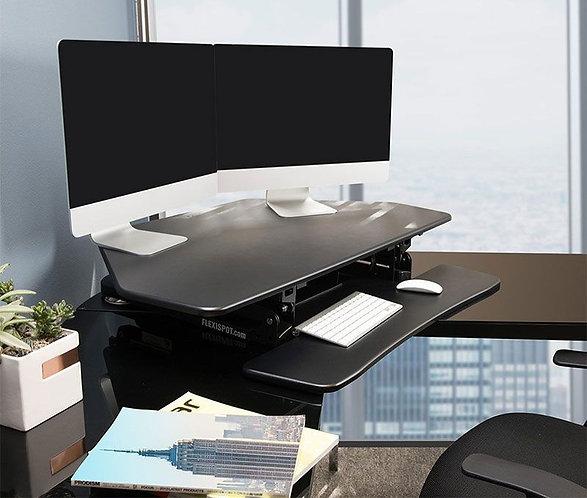 "ClassicRiser Standing Desk Converters 41"" Corner by FlexiSpot"