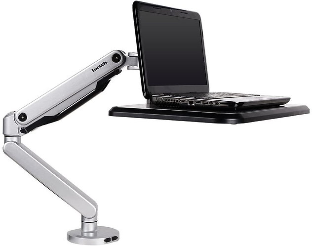 Sit-Stand Laptop Platform by Loctek