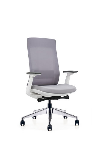 Elevate Task Chair - White Frame by Eurotech