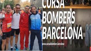 Apagant quilòmetres a la Cursa Bombers Barcelona