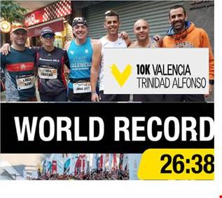 Andrés Garcia corre la Cursa València10k del rècord del món