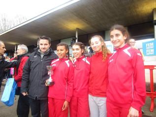 El CA Mollet campió de Catalunya cadet femení