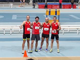 Crònica Cnat Catalunya Clubs Màster Veterans pista coberta 2018