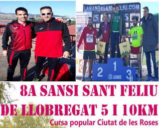 Doble participació i podi a la Cursa S.Feliu de Llobregat.