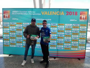 Atletes del CA Mollet a la Mitja Marató València World Champion2018