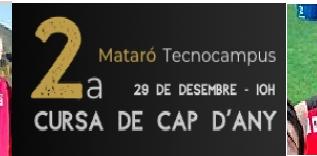 Alta velocitat CA Mollet a Cursa Cap d'Any de Mataró