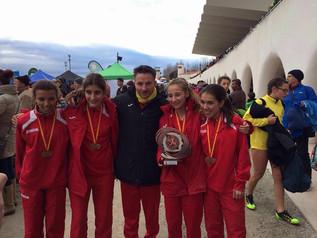 CA Mollet 3er d'Espanya cadet femení