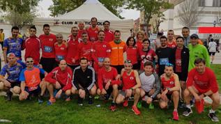 Fondistes CAMollet participen massivament a la Cursa La Llagosta