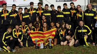 CA Mollet present a la Selecció Catalana al Ct. Espanya Camp a través Cadet i Juvenil per autonomies