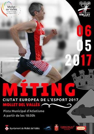 MÍTING Ciutat Europea de l'Esport 2017