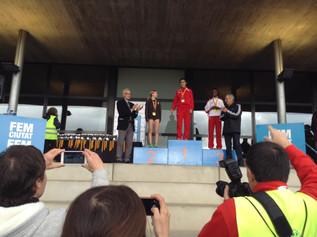 Maria Carner 1era del 18è Cros Ciutat de Girona