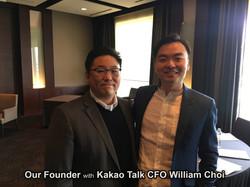 With Kakao Talk CEO