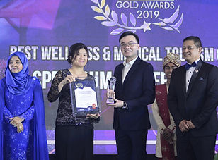 Malaysia Tourism Council Gold Award.JPG