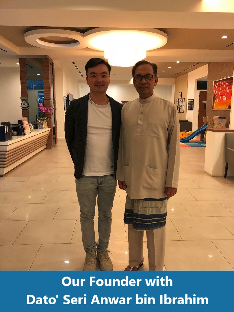 Our Founder with Dato Seri Anwar