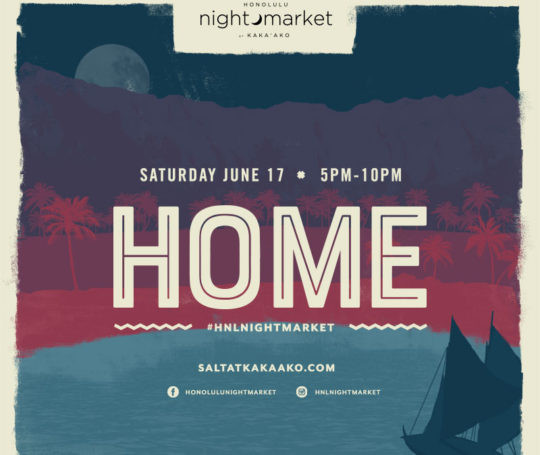 Hokule'a homecoming & Honolulu Nightmarket at SALT