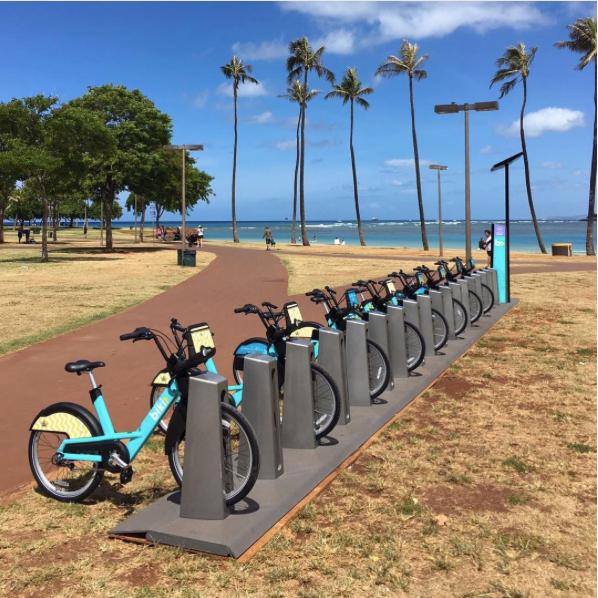 Honolulu launches Biki bikeshare