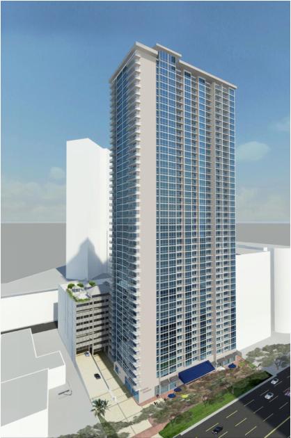 SamKoo Pacific LLC looking to add second tower on Kapiolani Blvd