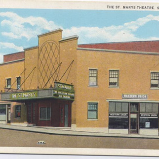 The St. Marys Theater St. MArys PA postcard