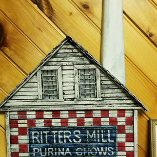 Handmade Ritters mill wooden sign St. Marys PA
