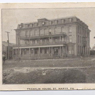 The Franklin House St. Marys PA PM 1908