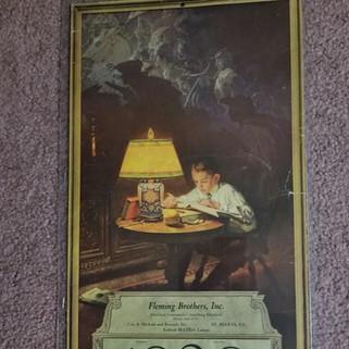 Fleming Bros. Calendar St. Marys PA 1928