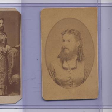 The  Famous Bearded Lady of Elk Co. PA  Mrs. MeyersP