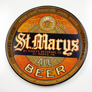 St, Marys Ale Brewing Co beer tray St. Marys PA
