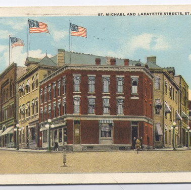 S. Michael and Lafayette sts. St. Marys PA pm 1933