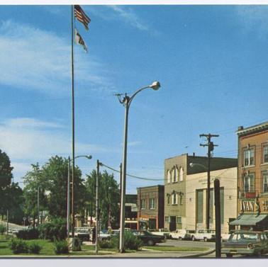 Town view postcard ST. Marys PA