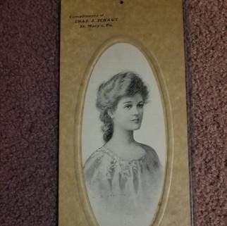Chas J Schaut Architect  Calendar St. Marys PA 1906