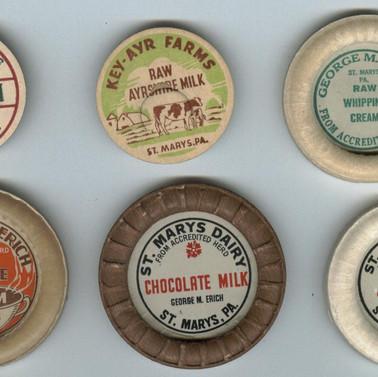 Milk caps St. Marys PA