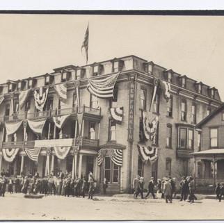 The Franklin  House postcard St. Marys pa