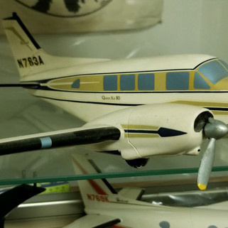 Stackpole Carbon co. model of their private jet