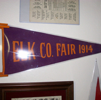 Elk Co. Fair 1914 Banner St. MArys PA