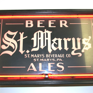 St. Marys Beer and Ales Neon sign