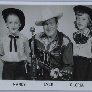 Lyle Huggler and family Early WKBI radio personalities