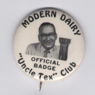 Modern Dairy Uncle Tex club WKBI radio